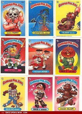 Garbage Pal Kids Garbage Pail Kids My Childhood Memories Garbage Pail Kids Cards