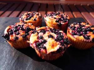 Ruoka.fi - Mustikkamuffinsit rahkalla