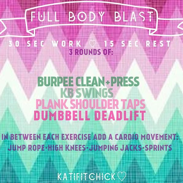 Full Body Blast Workout Health And Wellbeing Full Body Blast Workout