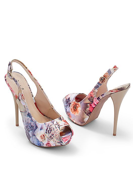 These Sandals Would Go Perfect With A Cute Fit And Flare Dress Venus Slingback P Toe