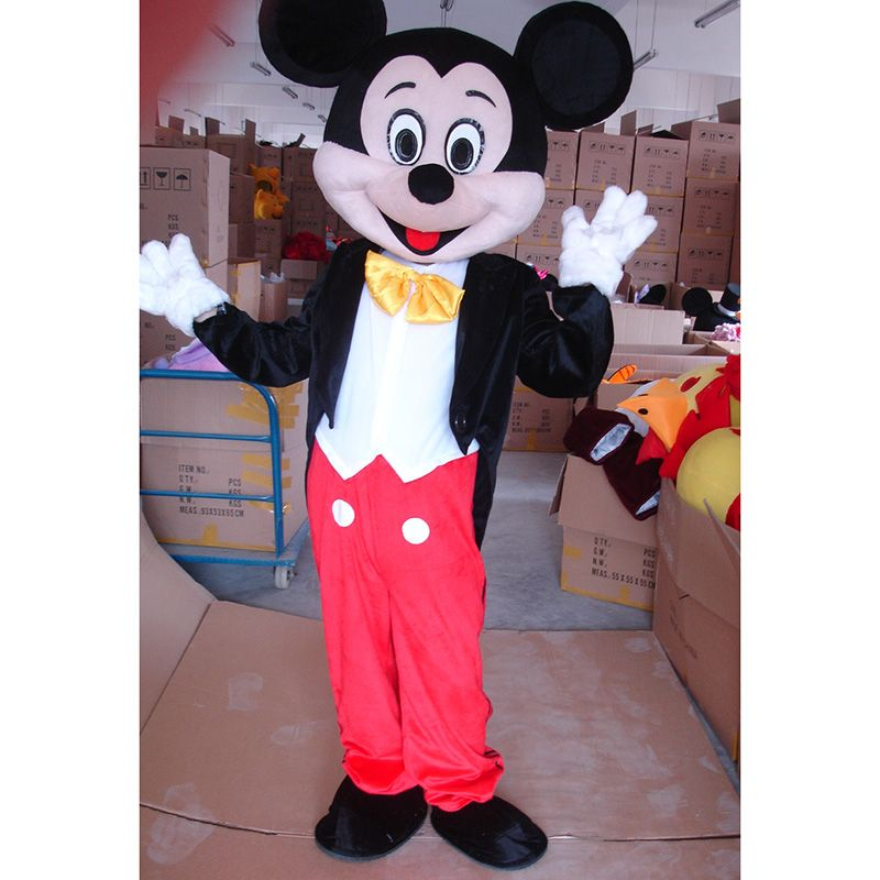 freies verschiffen erwachsene gr e f r mickey maus maskottchen kost m halloween party dress epe. Black Bedroom Furniture Sets. Home Design Ideas