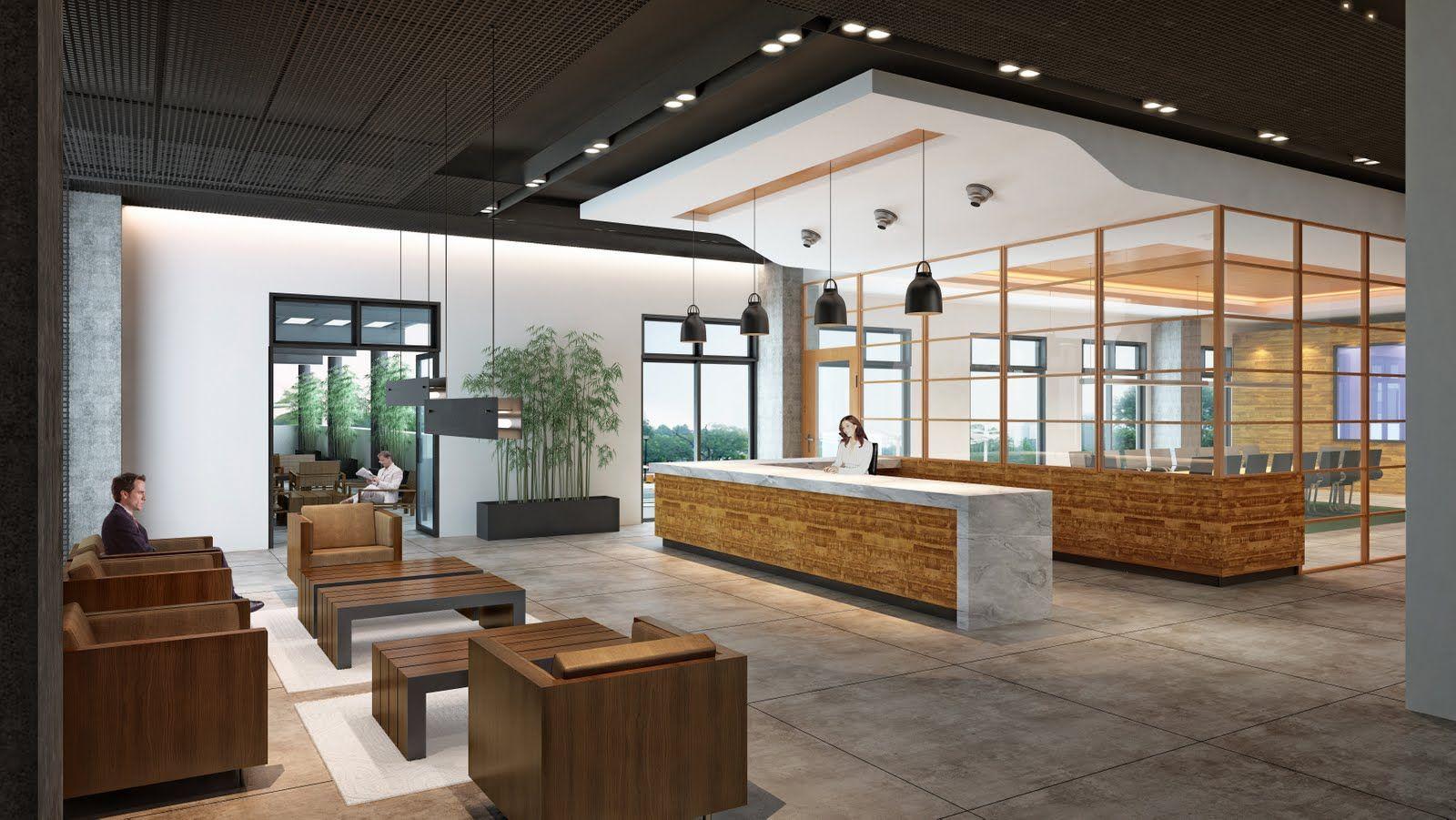 modern student lounge Shubin Donaldson GK LOUNGERENDERINGS