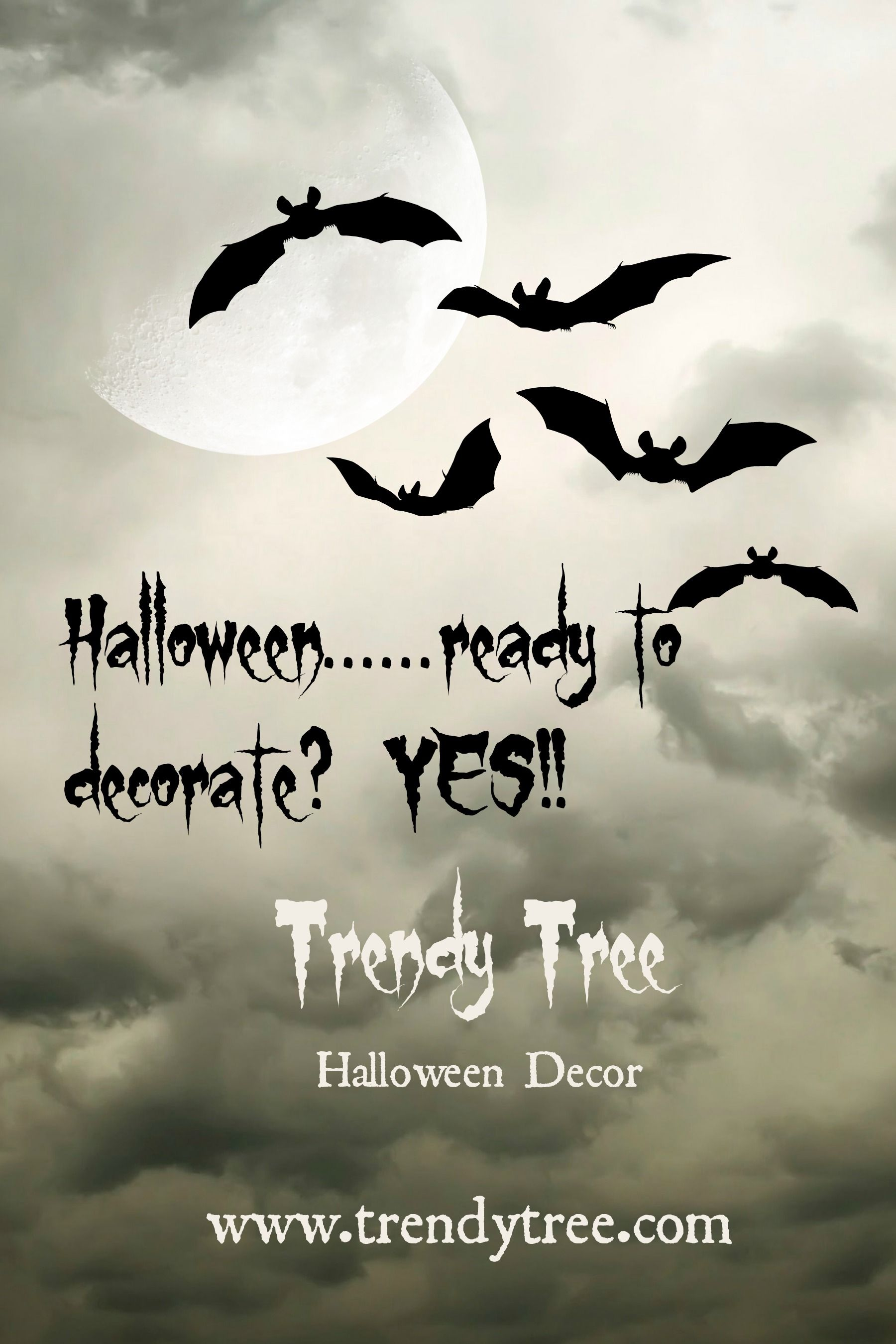 Visit Trendy Tree for Halloween Decor!   wwwtrendytree - Whimsical Halloween Decorations