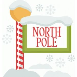 silhouette design store view design 101415 north pole sign rh pinterest com north pole clip art stamp north pole clipart png