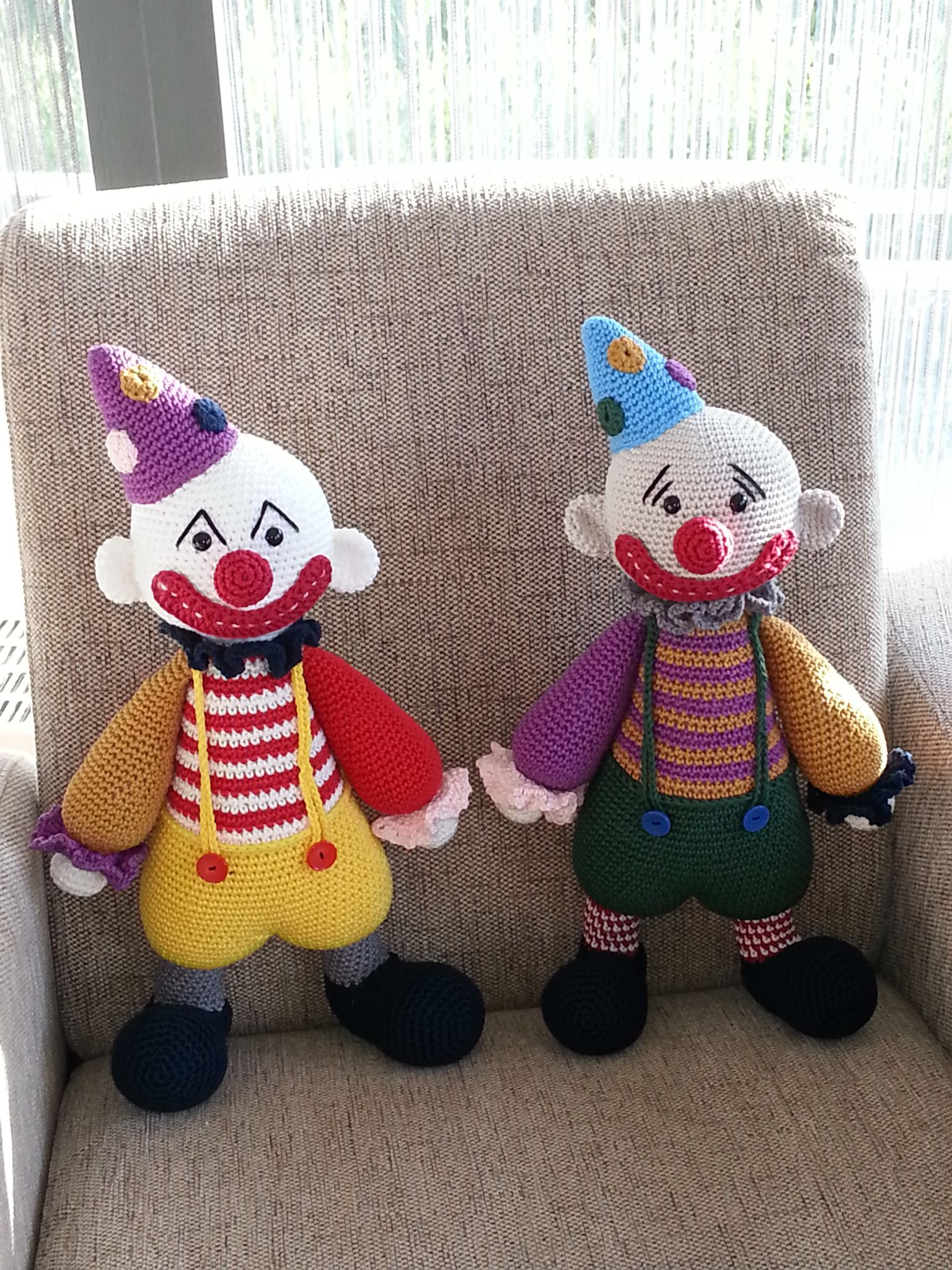 Clowns, patroon Lilleliis