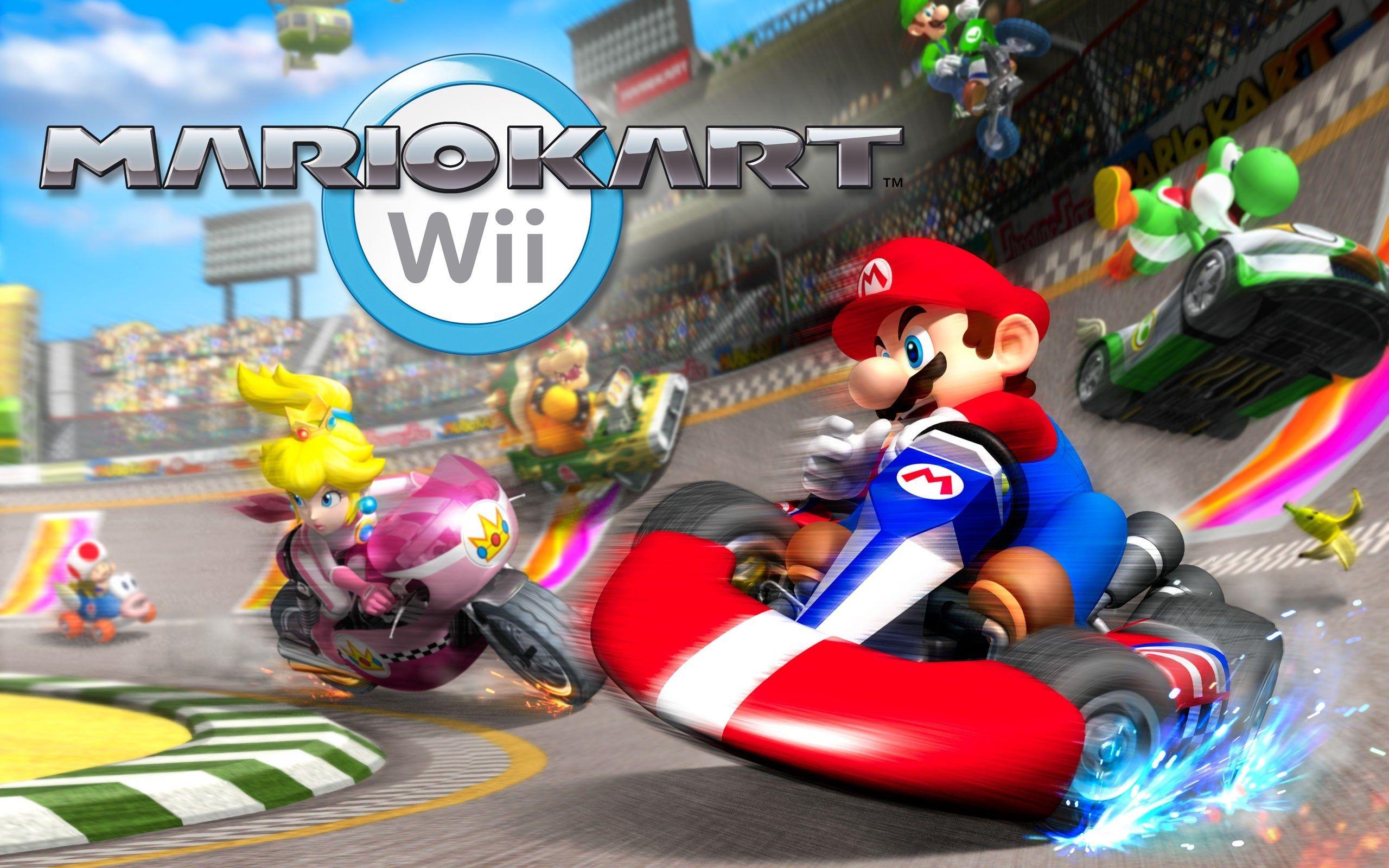 Wallpaper Desktop Mario Kart Wii Mario Kart Wii Mario