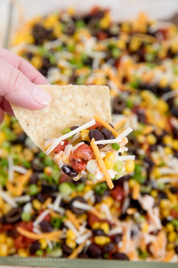 Photo of Southwestern 7 Layer Dip