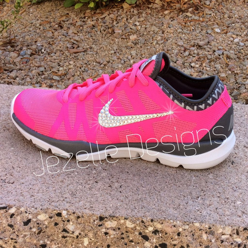 Pink Sparkly Nikes - Women s Nike Flex Supreme TR3  66f04da50b64