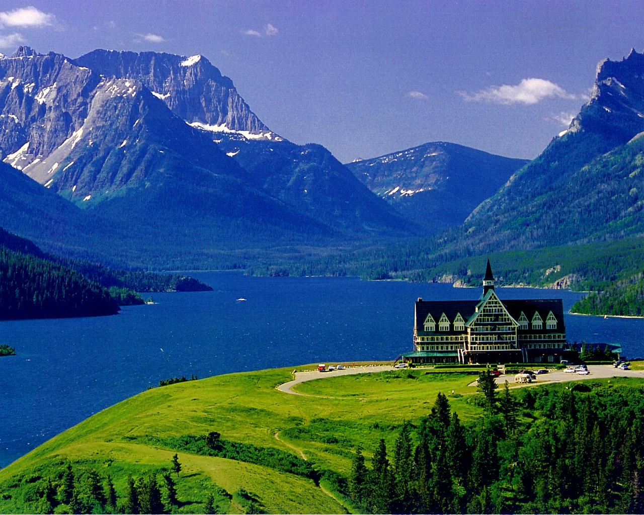Prince Of Wales Hotel Waterton Lakes National Park Alberta Blues Greens Whites Inspiration Comes In All Forms