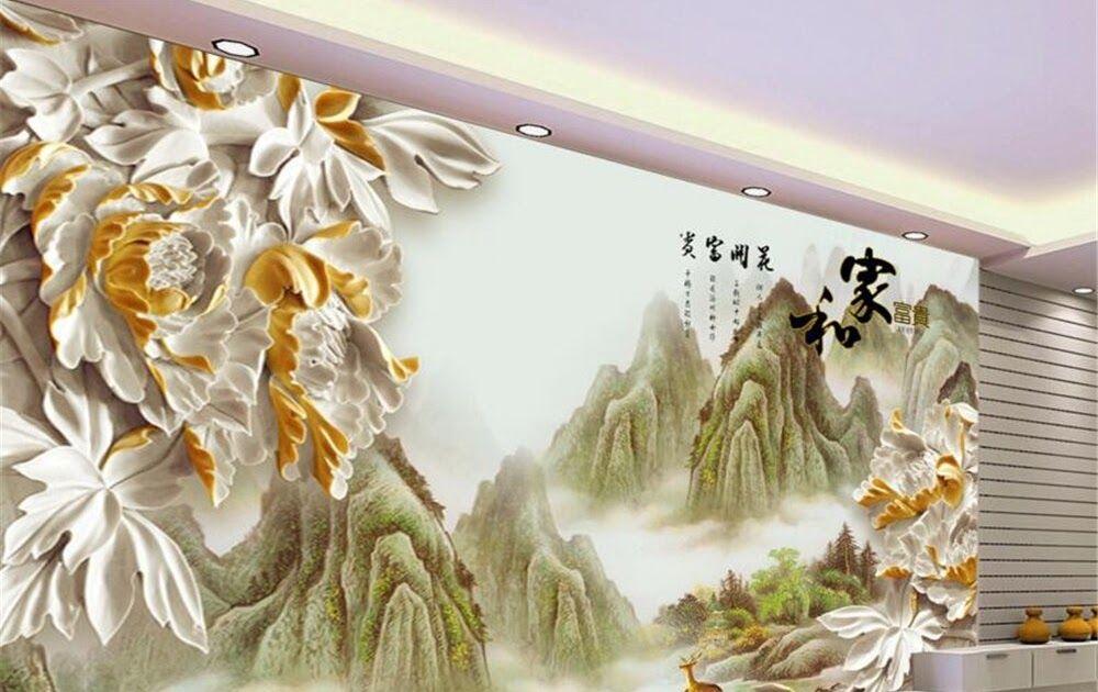 25 Lukisan Pemandangan Alam China Lukisan Dinding China Sabalukisan Download Beautiful Natural Waterfall Landscape Art Di 2020 Pemandangan Lukisan Lukisan Dinding