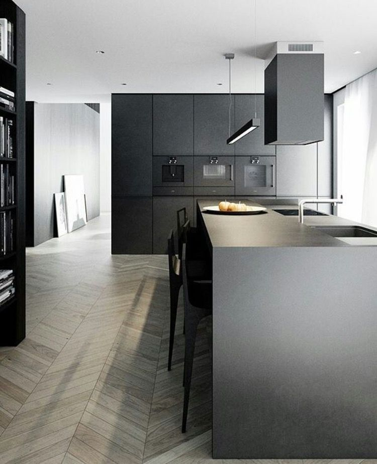 Sparkling White Kitchens Are Trendy And Beautiful, However, Consider  Instead A Dramatic Black Kitchen Thatu0027s Just As Functional And  Aesthetically Pleasing! Part 75