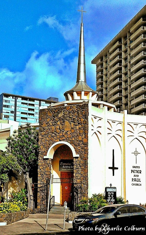 Saints Peter and Paul Catholic Church, Ala Moana, Oahu, HI