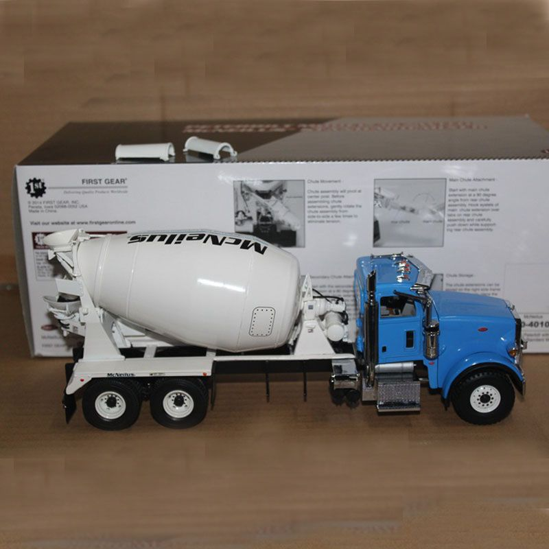 $139.00 (Buy here: http://appdeal.ru/dsvv ) FIRST GEAR 1:34 Diecast Toys Peterbilt Model 367 With McNeilus Standard Mixer 10-4041 for just $139.00