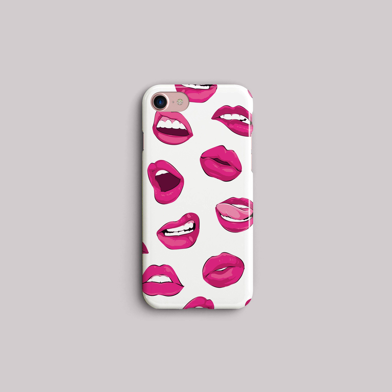 premium selection 82e0d c2947 Pink Phone Case, LG V30, Google Pixel 2 XL, iPhone X, Sexy Lips ...