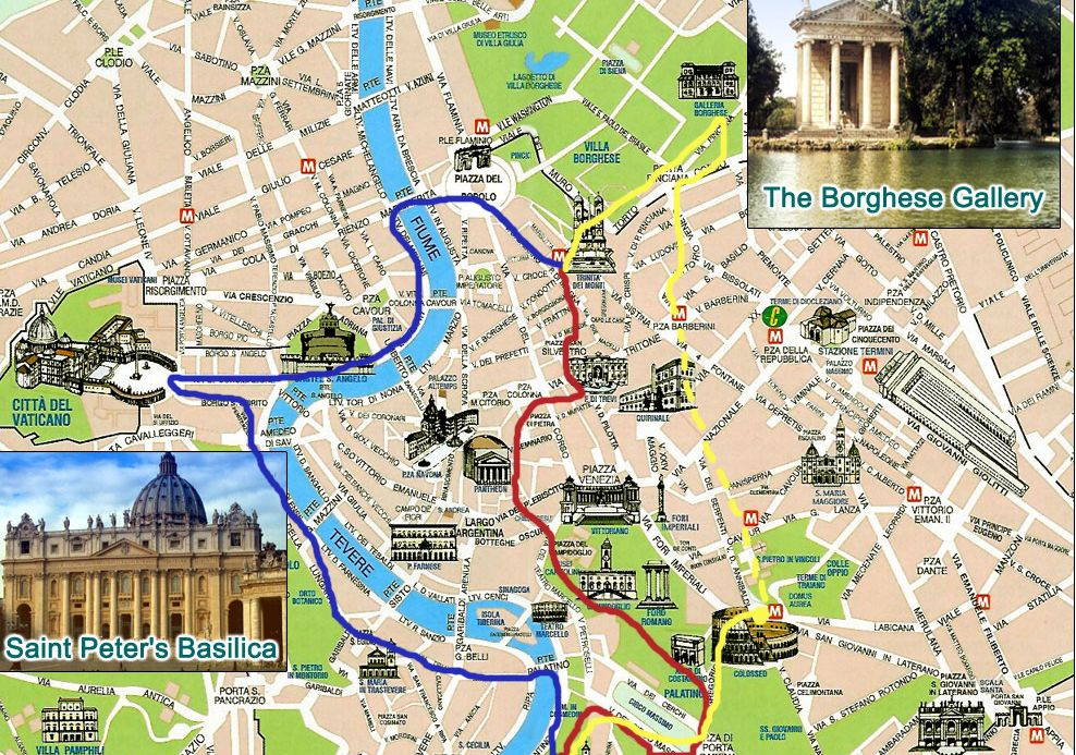 How to See Rome in a Day (warning not for the faint of