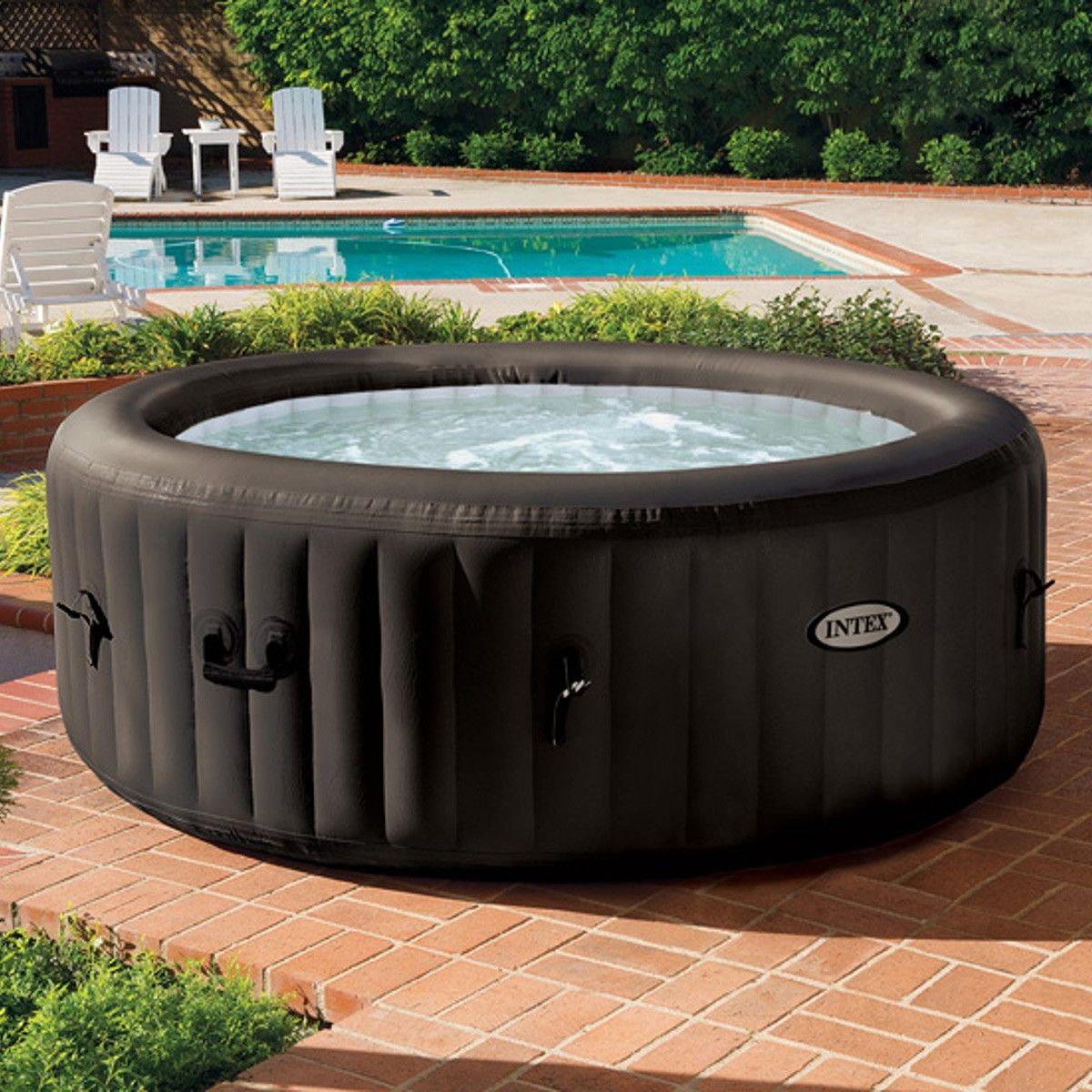 Pool Kaufen Lidl Intex Purespa Jet Massage Hot Tub 77 Spa Pinterest