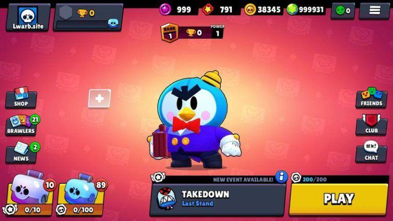 Download Nulls Brawl 25 112 Mod Apk Brawl Stars New Brawler Mr P Brawl Free Games Old Games