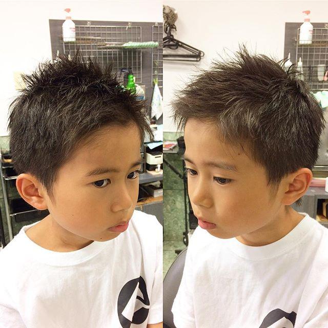 キッズ 男の子 髪型