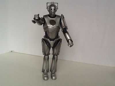 #Doctor who: 12 inch cyberman with #armgun (no chest #plate),  View more on the LINK: 	http://www.zeppy.io/product/gb/2/321974004200/