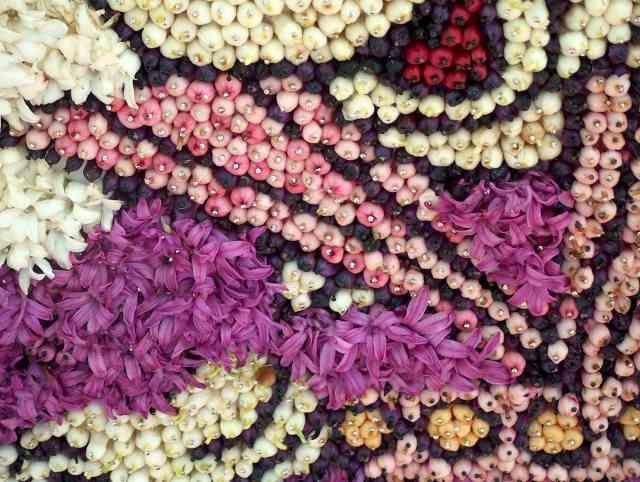 bloemenmozaiek
