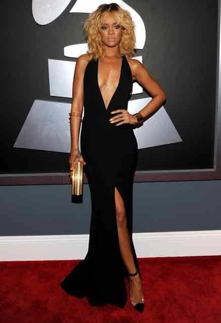 De Armani fue el traje que Rihanna usó en la entrega del ...