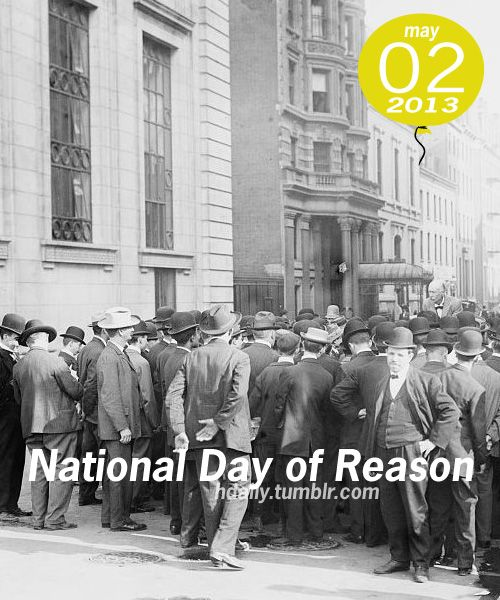 National Day of Reason!