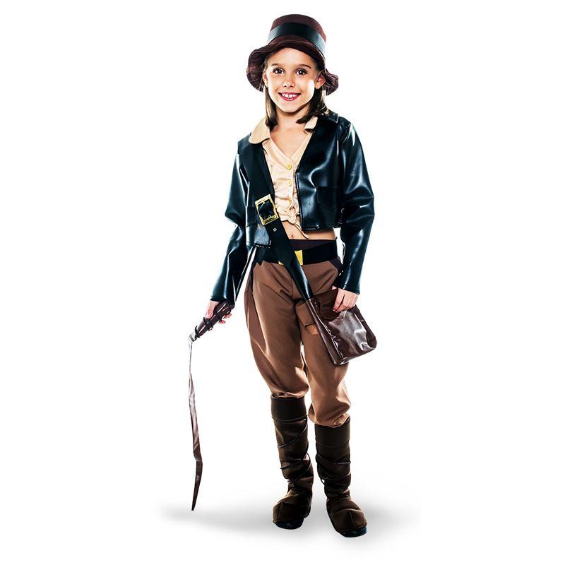 288d7372cc1be Disfraz de Arqueóloga Indiana Jones Infantil  disfraces  carnaval   novedades2016