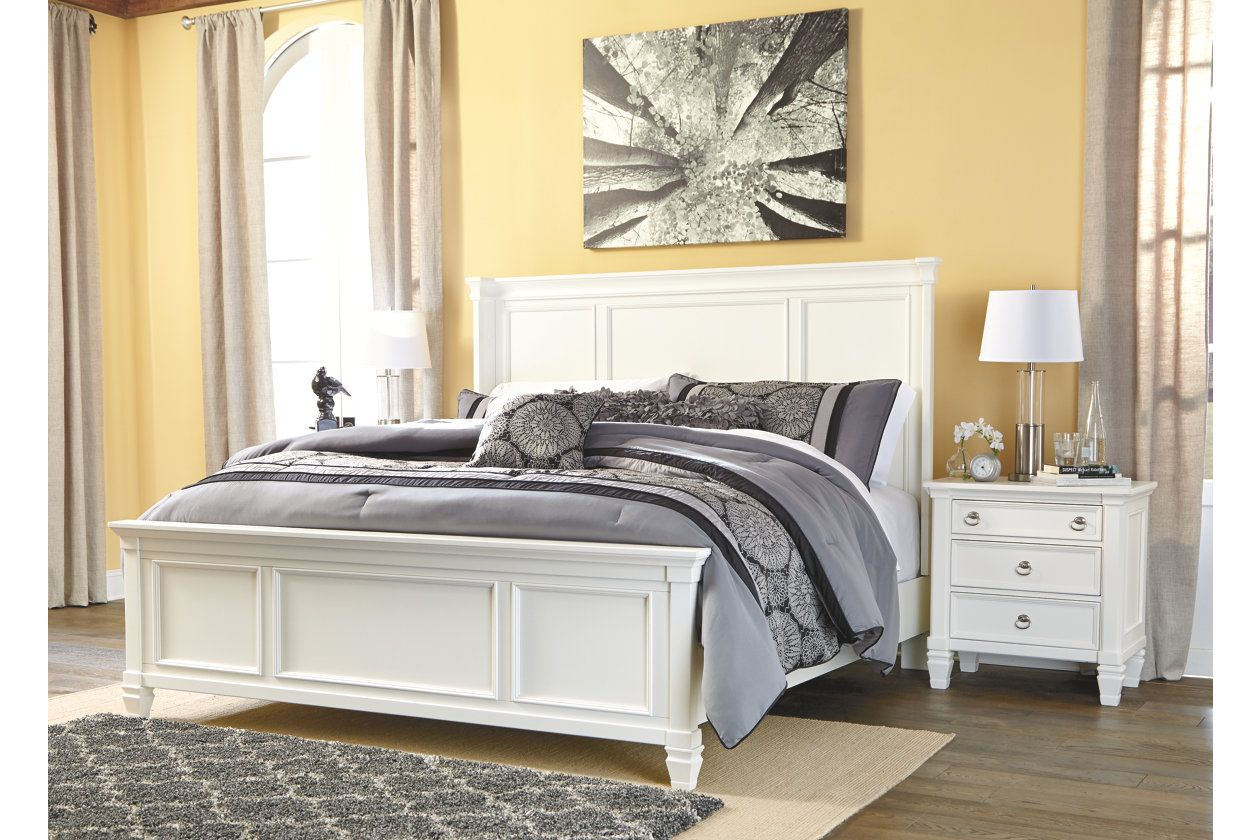 Best Prentice Queen Panel Bed White Panel Beds Panel Bed 640 x 480