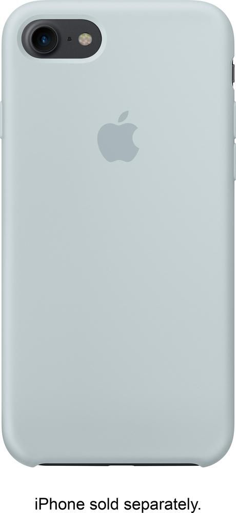 Best Buy Apple Iphone 7 Silicone Case Mist Blue Mq582zm A Iphone Apple Iphone Cheap Iphone 7 Cases
