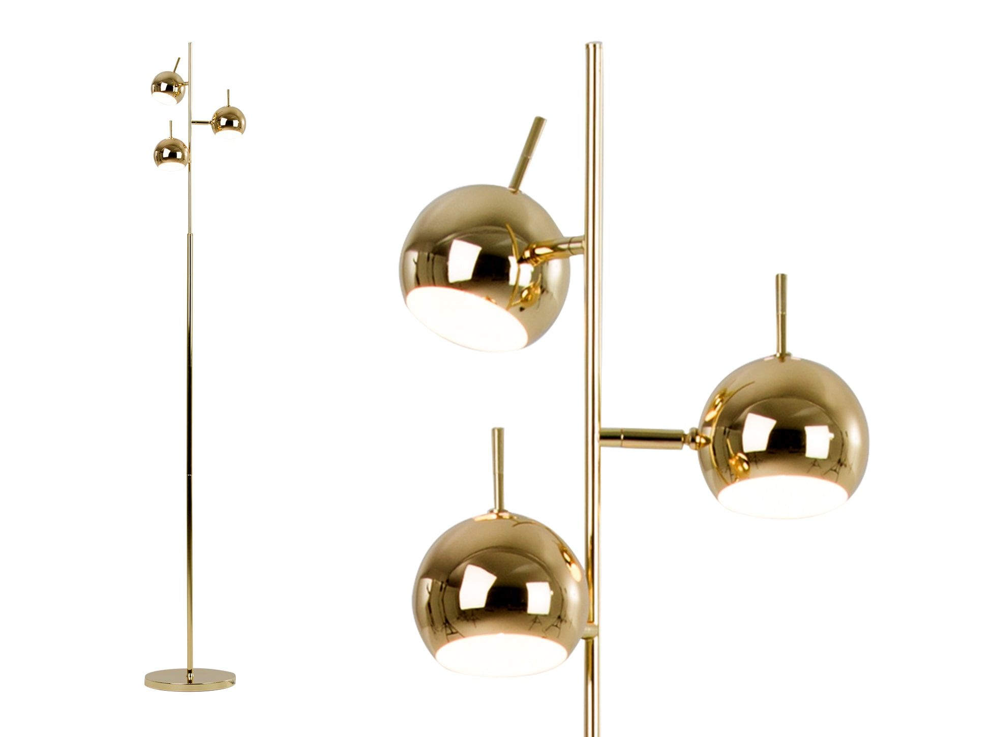 Made Brass Floor Lamp Free Standing Lamps Floor Lamp Brass