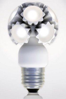New Light Bulb Design With Unique Shape Bulled By Ledo Led Technologie Led Bulb Light Bulb Light Bulb Design