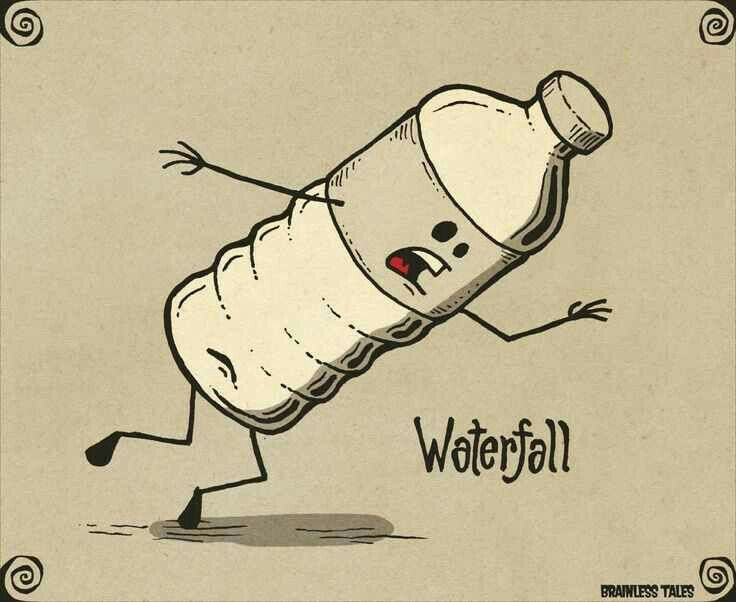 Hehe Waterfall | Nerd Quotes | Pinterest | Humor, Food ...