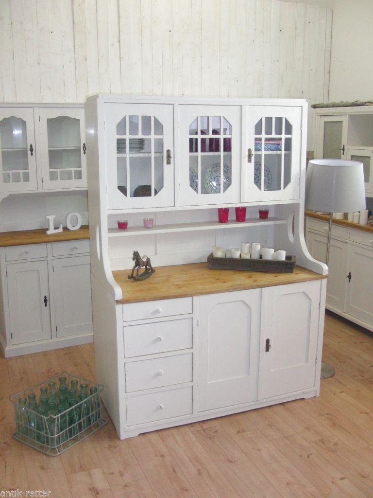 Kuechenbuffet Antik jugendstil küchenbuffet buffet anrichte vintage shabby landhaus