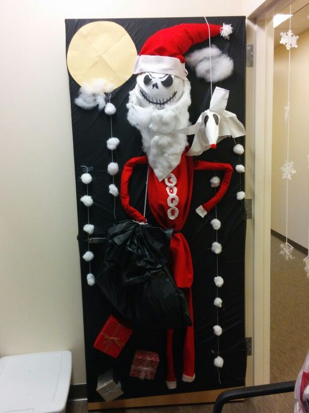 nightmare before christmas door decorating competition christmas pinterest christmas door christmas and christmas door decorations