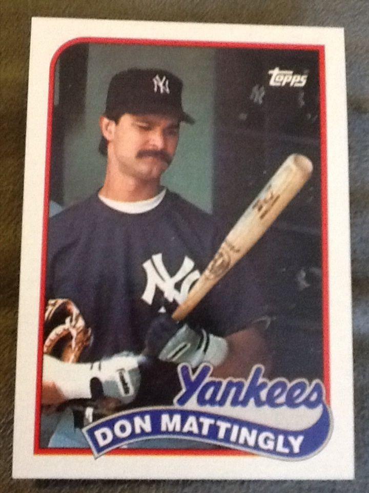 1989 Yankees Topps Tiffany 700 Don Mattingly Don Mattingly Baseball Cards For Sale Yankees