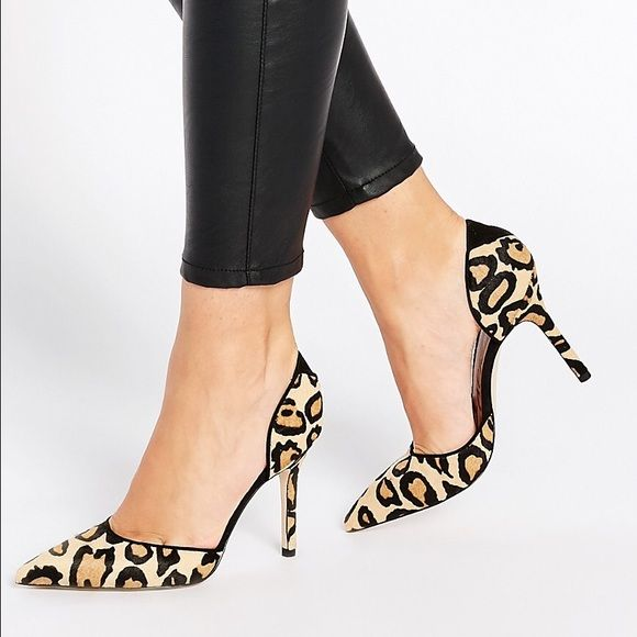 Buy Women Shoes / Sam Edelman Delilah Leopard Two Part Heeled Court Shoes