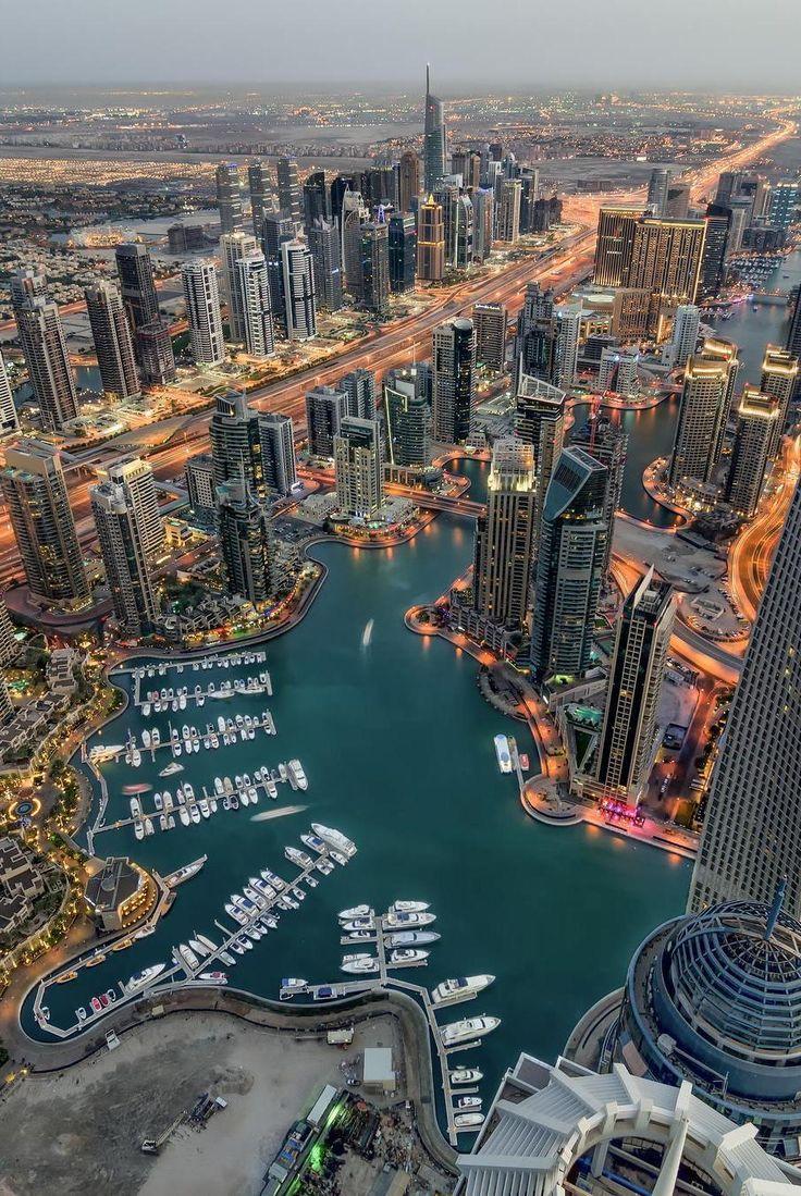 Dubai Marina Aerial view | DUBAI BEAUTY | Dubai, Dubai ...