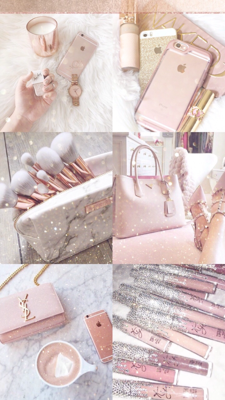 Fashionista1152 Wallpapers Pinterest Rose Gold Aesthetic