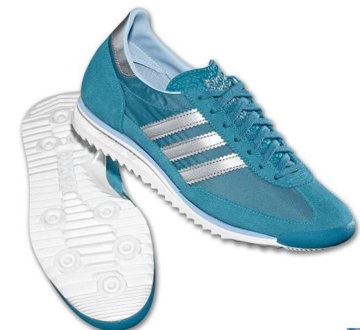Image For Womens Adidas Originals SL 72 Vintage Shoes Sneaker Cabinet