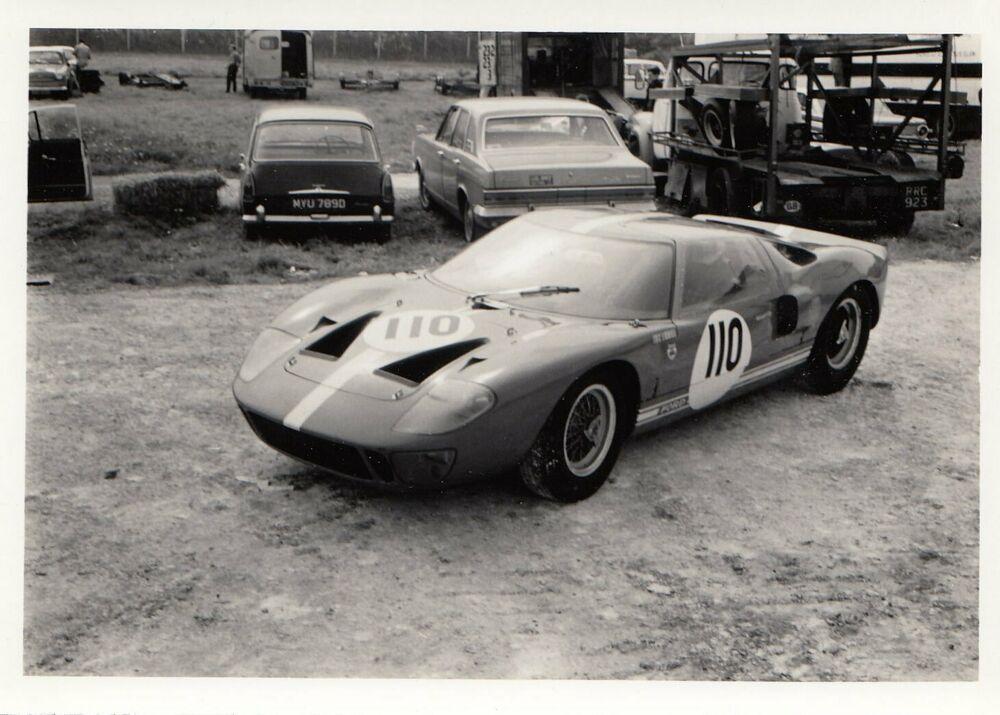 110 Ford Gt40 Brands Hatch Eagle Trophy 1966 Liddell Original