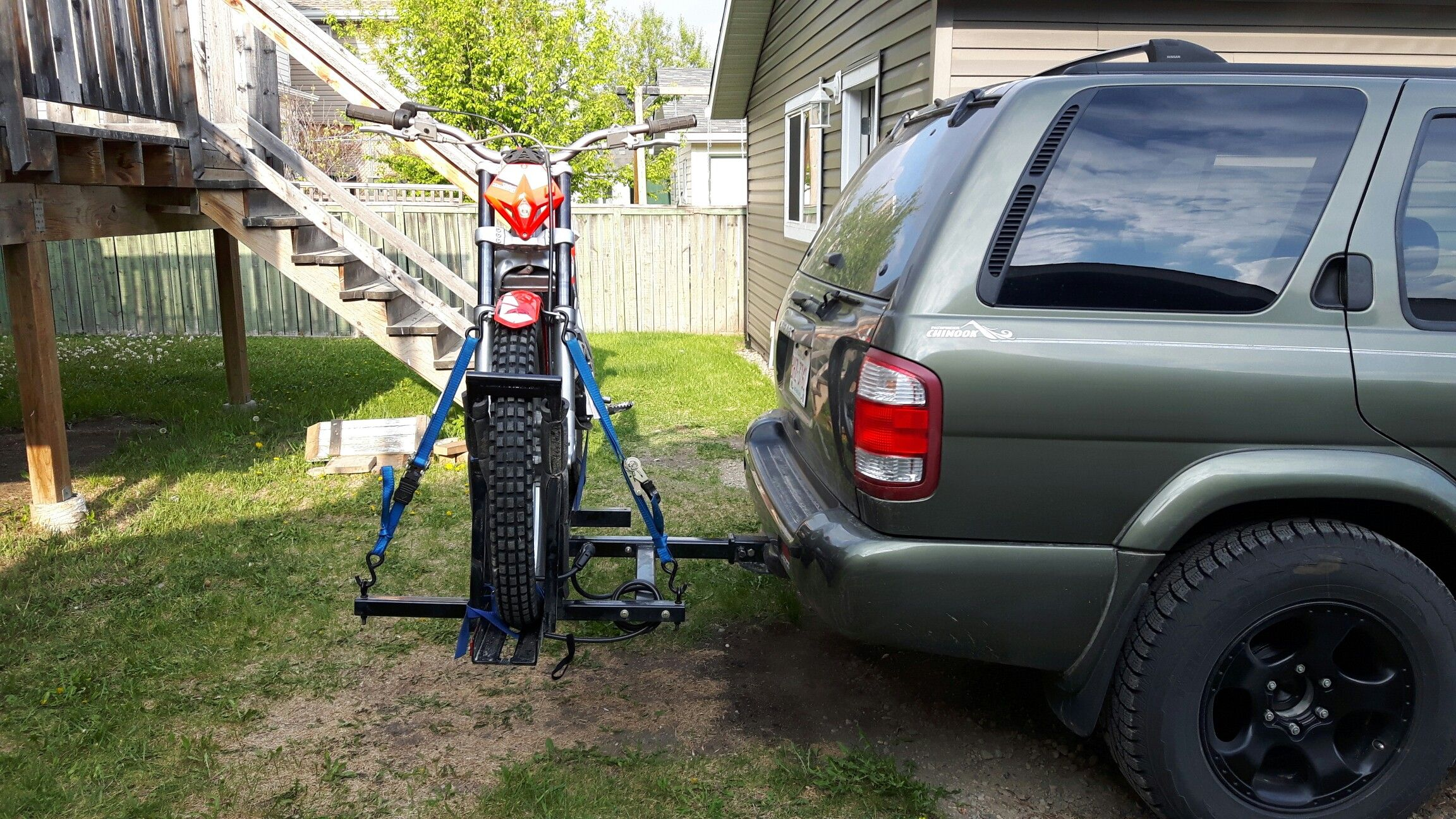 Dirt Bike Carrier Diy Roof Rack Dirt Bike Suv Car