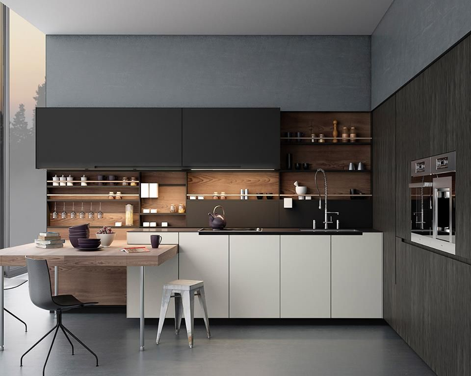 "A Fresh New Collection For Of ""sleek"" Modular Kitchens Interior Awesome Kitchen Interiors Design Decorating Inspiration"