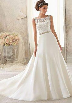 Natural Waist Bridesmaid Dress