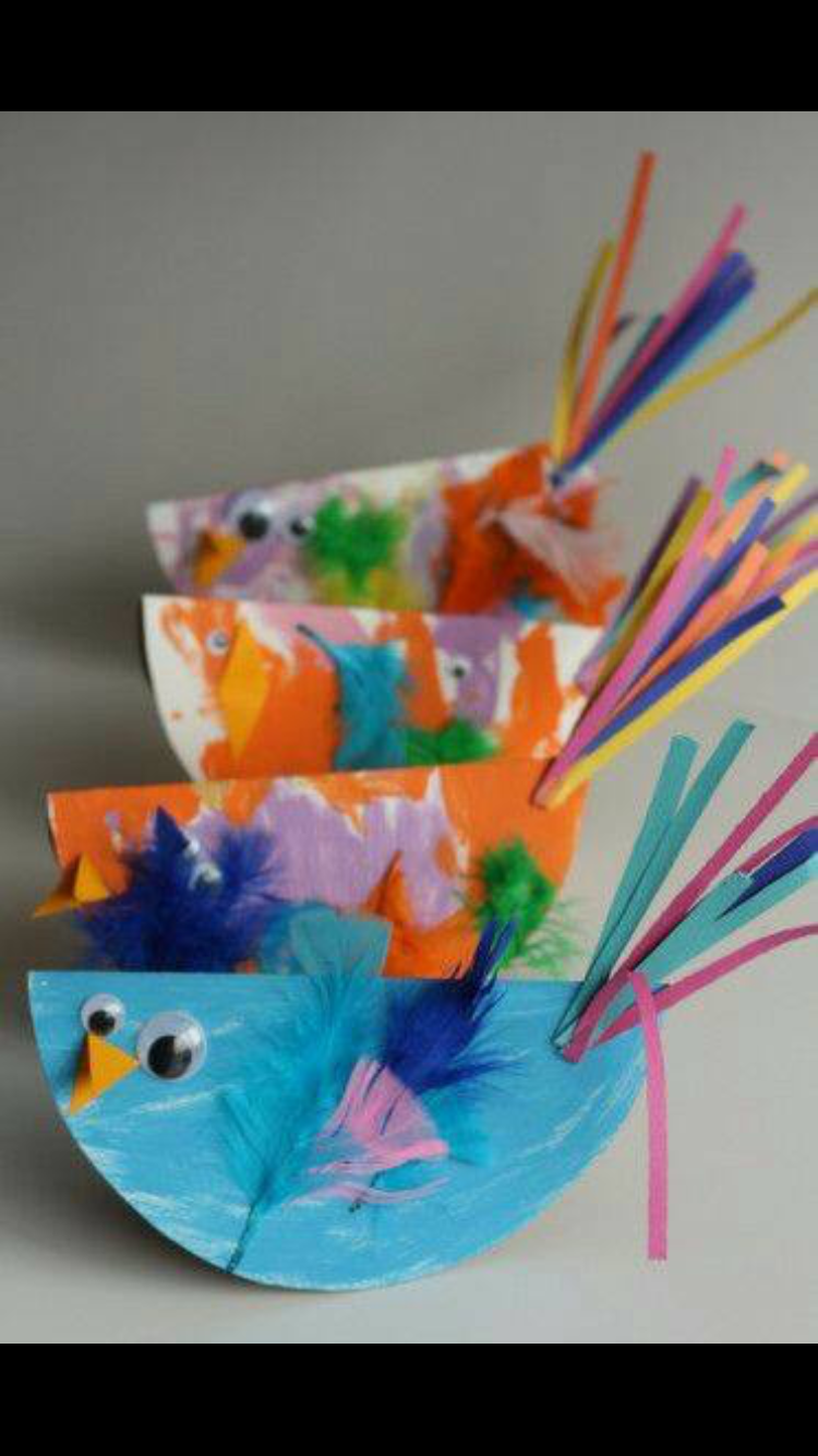 Easy Inexpensive Spring Crafts For Toddlers And Preschoolers Flowers Bugs Birds Nature Outdoor Play Ideas All Kinds Of