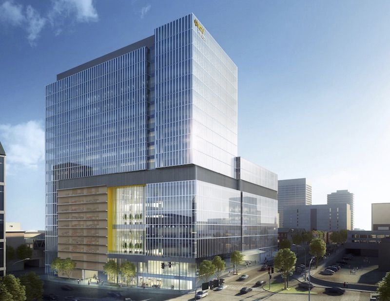 Virginia Commonwealth University S Vcu Health Broke Ground June 22 On The Largest Capital Construction Project In Its His Building Design Architecture Virginia