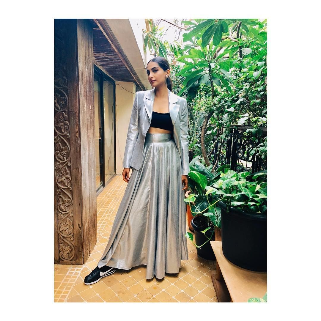 ac032bede Adept The Crop Top And Skirt Combination Fashion Trend Like A Bollywood  Celebrity #fashion #bollywood #celebritystyle #trends2018 #croptopandskirts