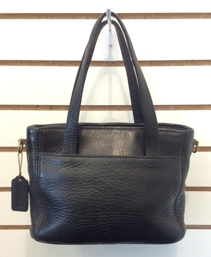 Vintage Black Pebbled Leather F8p 4310 Coach Handbag Shoulder Bag Sold Was Available At Gadgets And Gold In Gainesville Fl