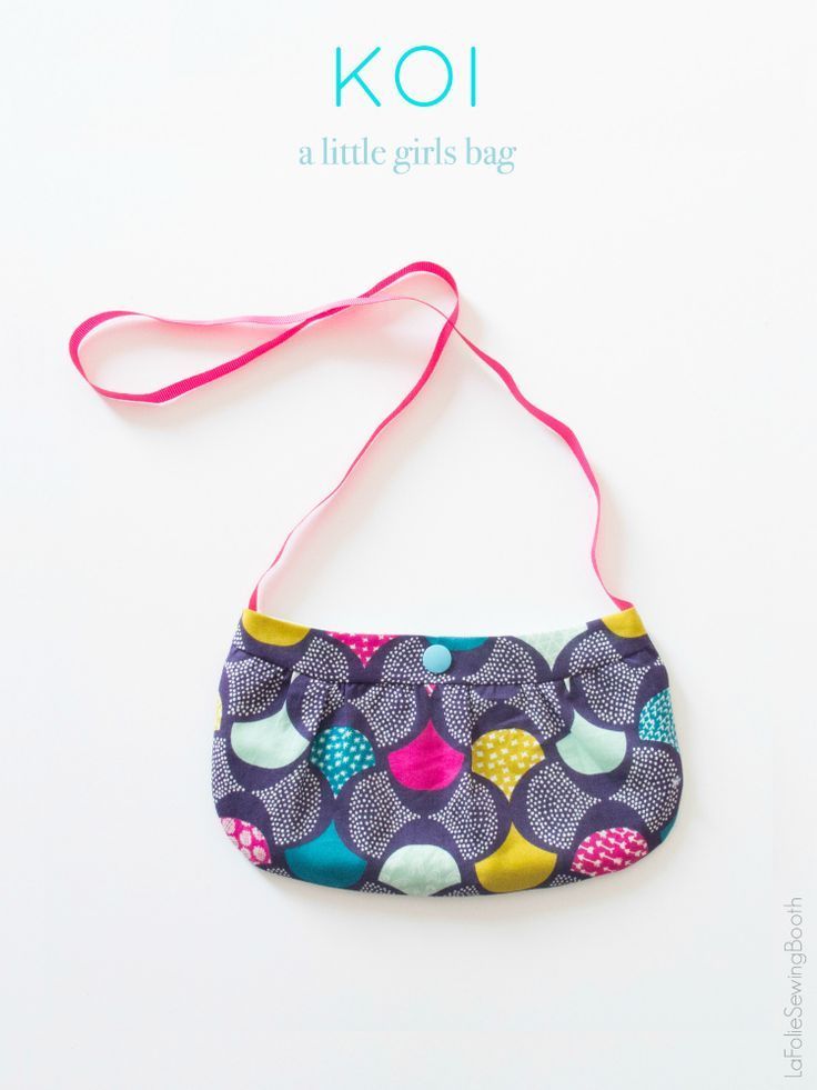 Little Girls Purse Pattern {free | Pinterest | Nähen