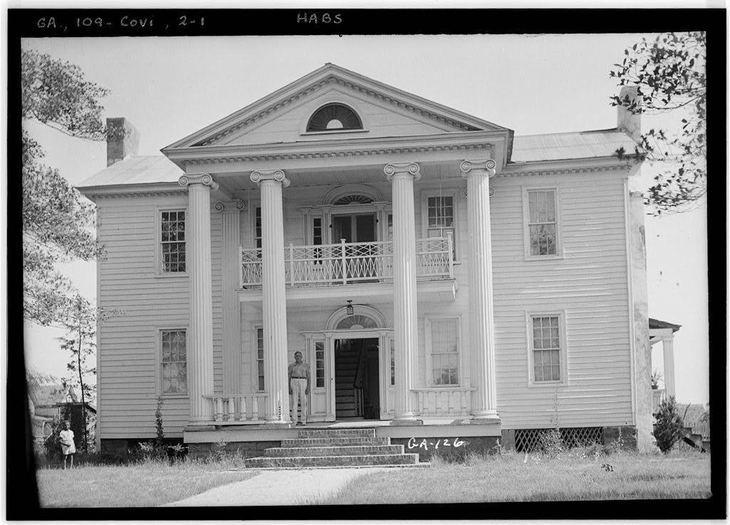 c. 1821 Federal/Greek Revival Oxford, GA Historic