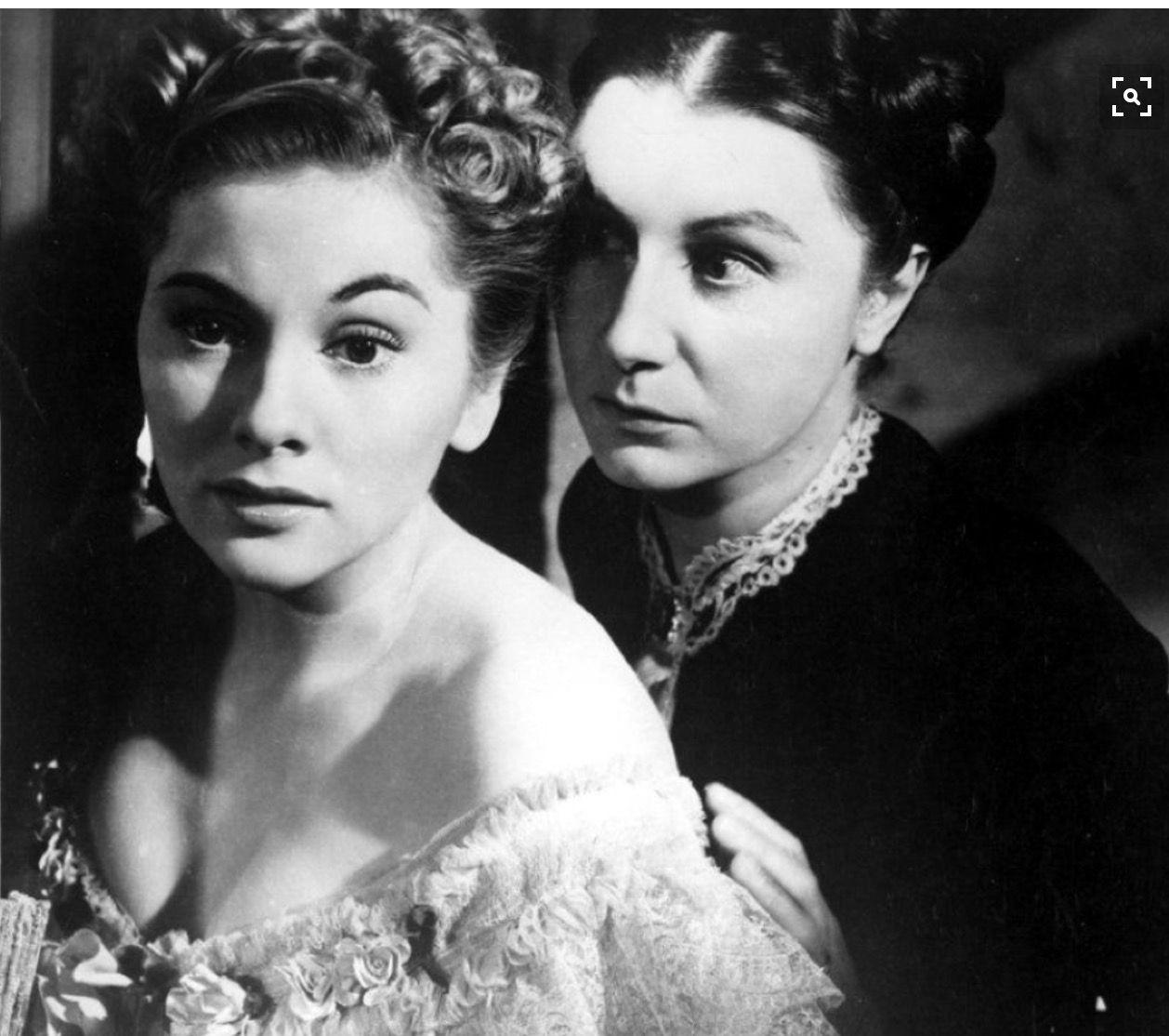 Joan Fontaine Judith Anderson en Rebecca